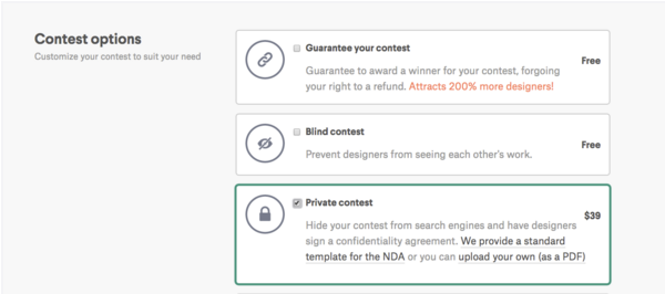 How Can I Protect My Contest With An Nda 99designs Help Center
