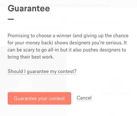 What is a guaranteed design contest? – 99designs Help Center